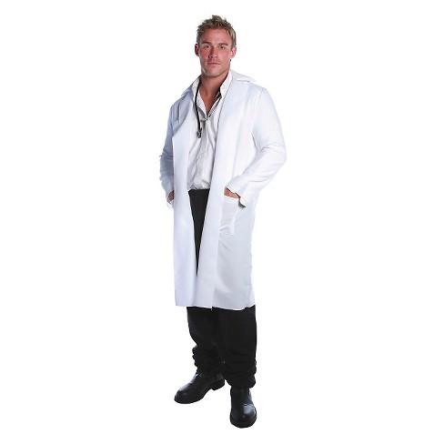 49d94b3c7 Men's Lab Coat Costume One Size