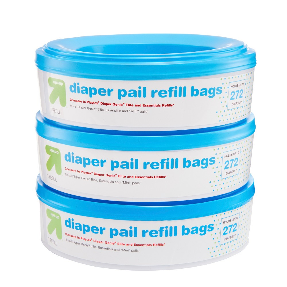 Image of Diaper Pail Refill Bags - 3pk - Up&Up , Blue