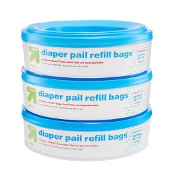 Diaper Pail Refill Bags - 3pk - Up&Up™