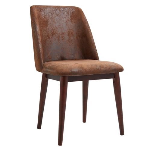 Elegante fabric chair Aged Leather - Versanora - image 1 of 2