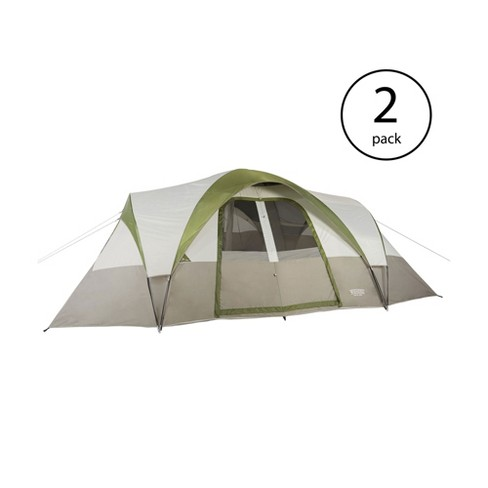 a330bde6662 Wenzel Mammoth 16 Person Family 3 Season Outdoor Camping Dome Tent (2 Pack)    Target