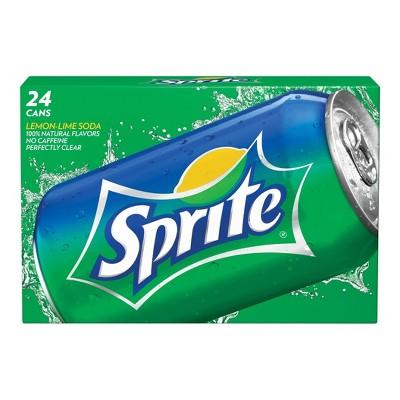Sprite - 24pk/12 fl oz Cans