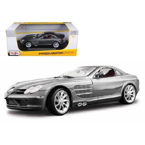 Mercedes Mclaren Slr Grey 1 18 Diecast Model Car By Target
