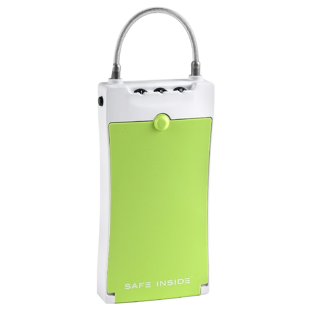 Safe Inside Portable Security Case - Green