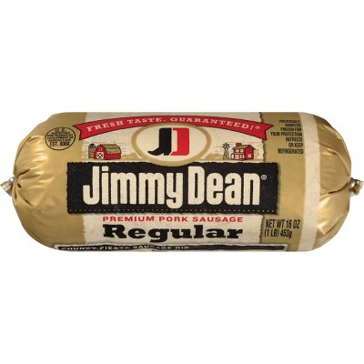 Jimmy Dean Regular Pork Sausage Roll - 16oz