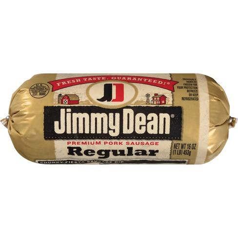 Jimmy Dean Regular Pork Sausage - 16oz - image 1 of 3