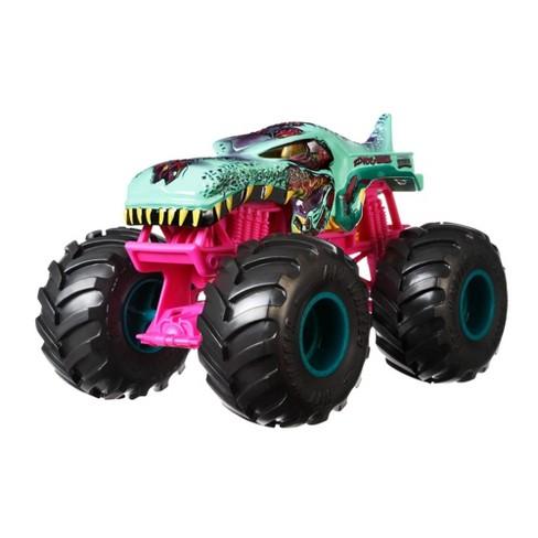 Hot Wheels Monster Trucks 1 24 Zombie Wrex Vehicle Target