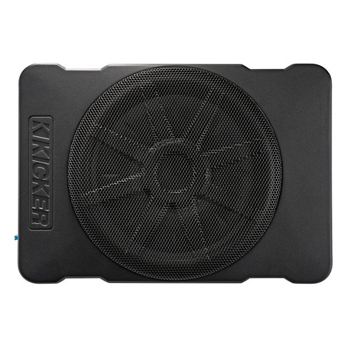 """Kicker 46HS10 Hideaway Compact Powered 10"""" Subwoofer Enclosure - image 1 of 2"""