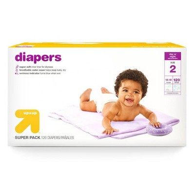 Diapers Super Pack - Size 2 - 120ct - up & up™