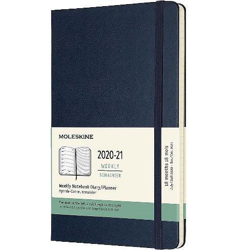 Moleskine 2020-2021 5 x 8.25 Planner, Sapphire Blue 606969 - image 1 of 4