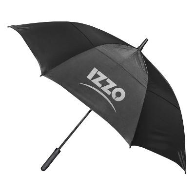 "IZZO Golf 56"" Golf Umbrella - Black"