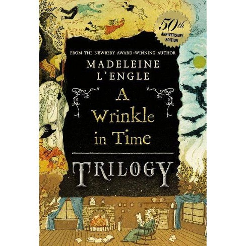 A Wrinkle in Time Trilogy - (Wrinkle in Time Quintet) 50 Edition by  Madeleine L'Engle (Paperback) - image 1 of 1