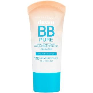 Maybelline® Dream Pure BB™ Cream Light/Medium - 1 fl oz