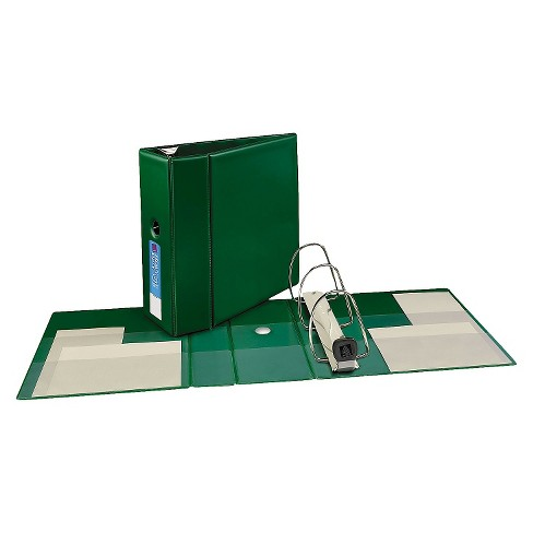 "Avery® Heavy-Duty Binder with One Touch EZD Rings, 11 x 8 1/2, 5"" Capacity, Green - image 1 of 1"