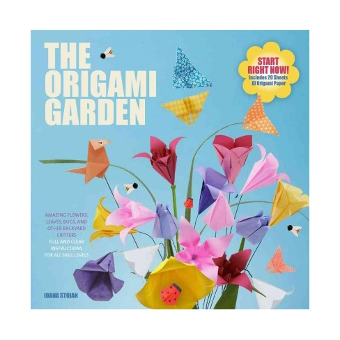 Origami garden amazing flowers leaves bugs and other backyard about this item mightylinksfo