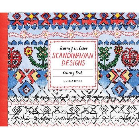 Journey In Color Scandinavian Designs Paperback Target