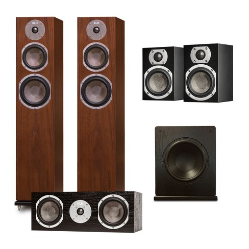 "KLH Quincy 5.1 Speaker System with Windsor 10"" Subwoofer - image 1 of 12"
