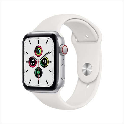 Apple Watch SE GPS + Cellular Aluminum Case with Sport Band - image 1 of 4