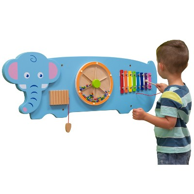 Learning Advantage Elephant Activity Wall Panel