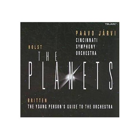 J?rvi - Holst: The Planets; Britten: The Young Person's Guide to the Orchestra (CD) - image 1 of 1