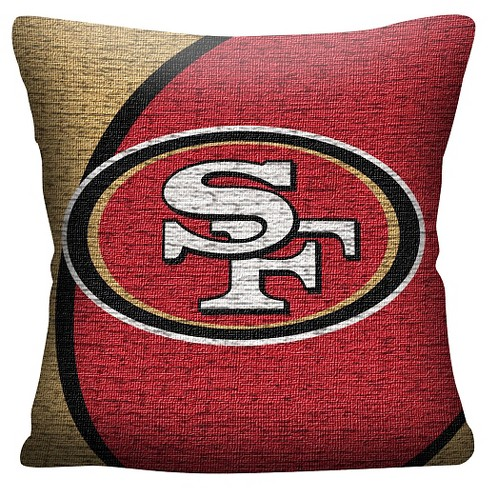 "NFL San Francisco 49Ers Woven Pillow (20""x20"") - image 1 of 1"