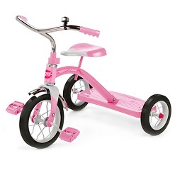 """Radio Flyer 10"""" Classic Tricycle - Pink, Girl's"""