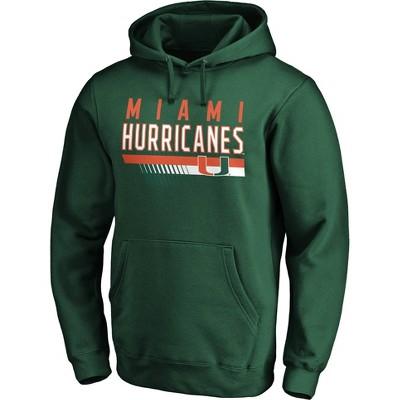 NCAA Miami Hurricanes Men's Fleece Hoodie