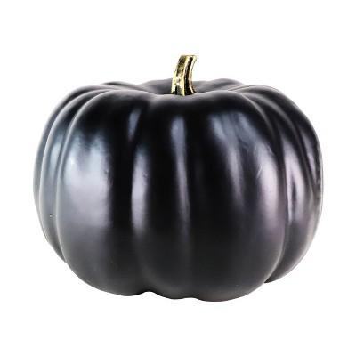 Medium Halloween Pumpkin Solid Black - Hyde and Eek! Boutique™