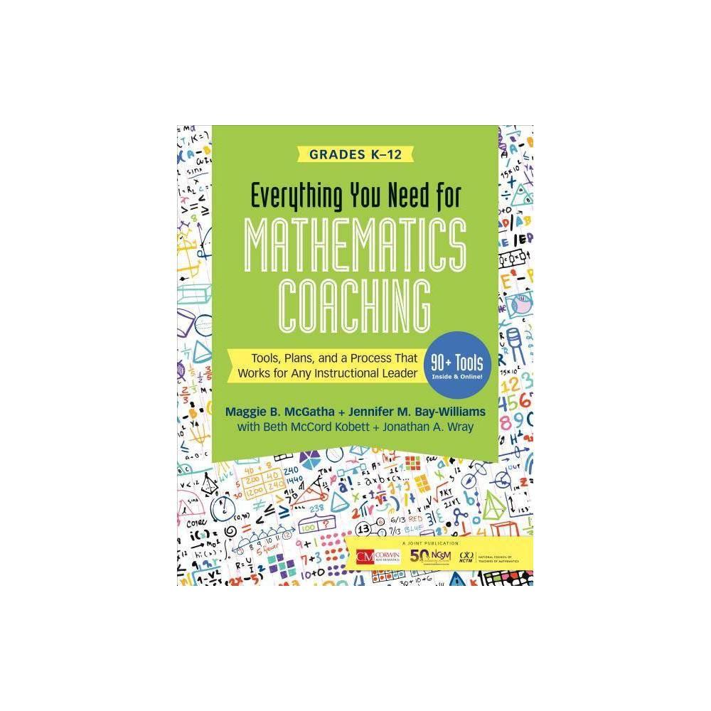 Everything You Need For Mathematics Coaching Corwin Mathematics Paperback