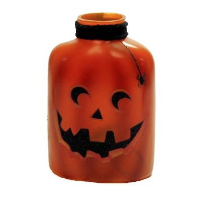 "Stony Creek 6.0"" Halloween Pre-Lit Jar W/.Ribbon Jack-O-Lantern  -  Novelty Sculpture Lights"