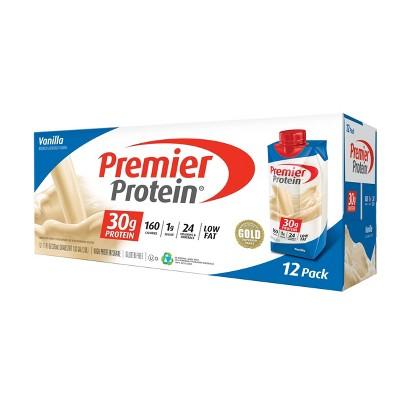 Premier Protein Shake - Vanilla - 12pk/11oz