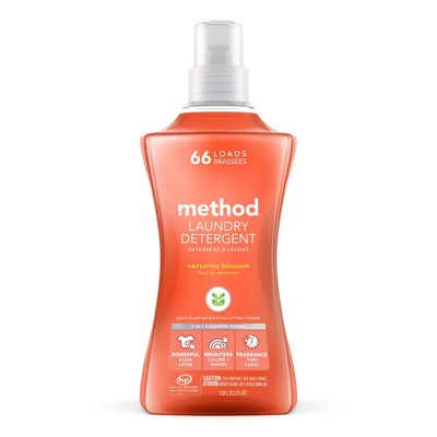 Method Nectarine Blossom Laundry Detergent - 53.5 fl oz