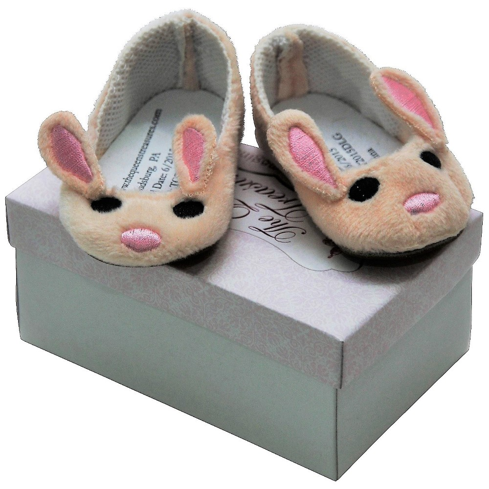 The Queen's Treasures 18 Inch Doll Clothes Accessory, Soft Bunny Slippers Plus Authentic Shoe Box