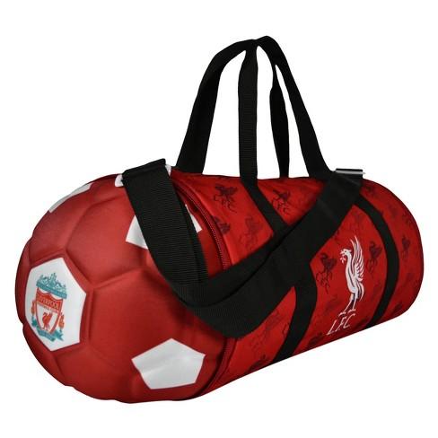 f00a6196 Premier League Liverpool FC Collapsible Soccer Ball Duffel Bag : Target