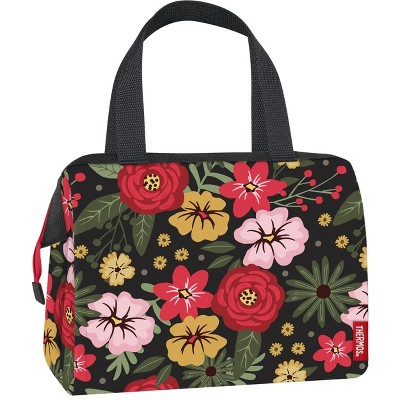 Thermos 9 Can Lunch Tote - Midnight Garden