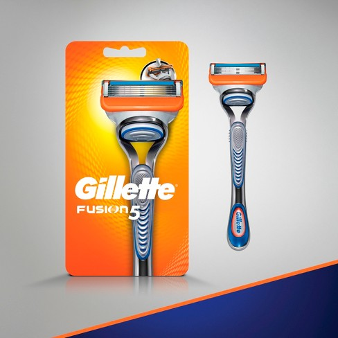 Gillette Fusion5 Men's Razor - 1 Handle + 2 Refills