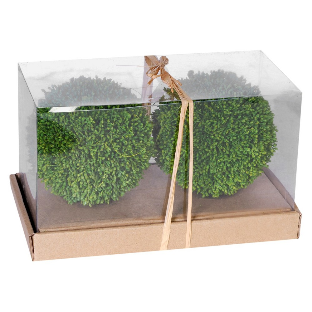 Image of Ball In Box - Set of 2 - A&b Home, Green