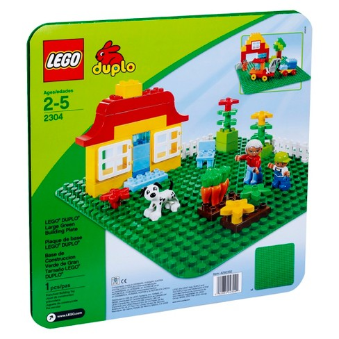 LEGO® DUPLO® My First Large Green Building Plate 2304 - image 1 of 3