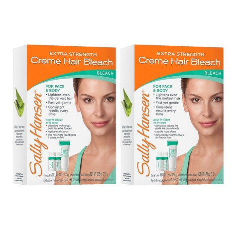 Sally Hansen Extra Strength Hair Bleach - Face & Body - 2 Pack - image 1 of 1