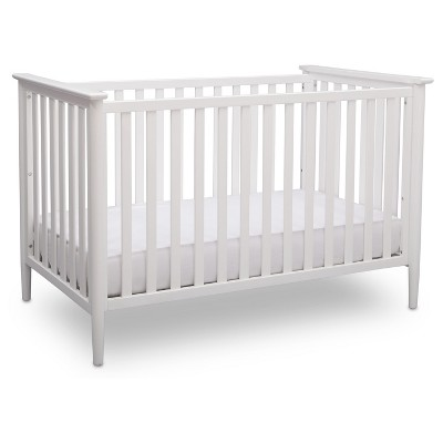 Delta Children Greyson 3-in-1 Convertible Crib - Bianca White