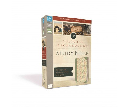 Cultural Backgrounds Study Bible : Bringing to Life the Ancient World of Scripture: New International - image 1 of 1