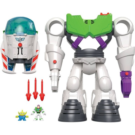 Fisher-Price Imaginext Disney Pixar Toy Story 4 Buzz Lightyear Robot image number null