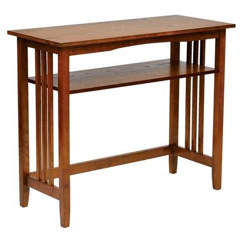 Sierra Console Table Ash - Office Star - image 1 of 3