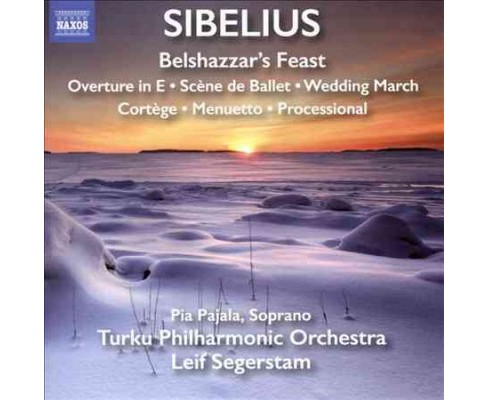Turku philharmonic o - Sibelius:Belshazzar's feast (CD) - image 1 of 1