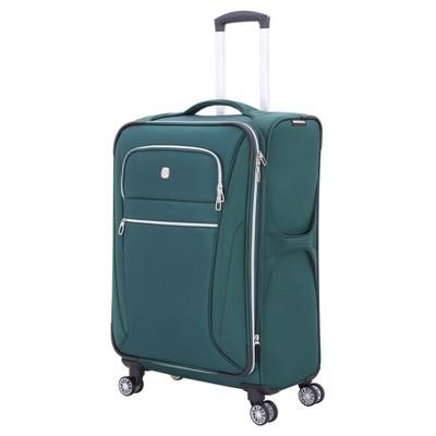 SwissGear Checklite 24.5  Suitcase - June Bug Green