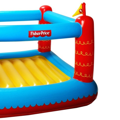 Fisher Price Bouncetastic Inflatable Castle Bouncer W Removable
