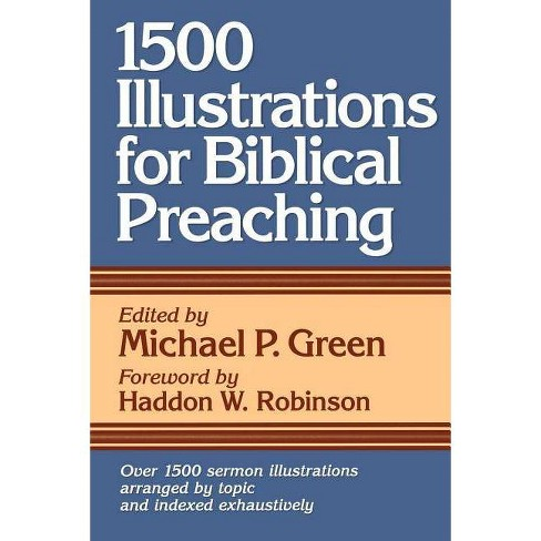 1500 Illustrations for Biblical Preaching - (Paperback) - image 1 of 1