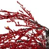 CMI 3.8' Unlit Artificial Christmas Tree Red Holiday Crystallized Potted Glitter - image 3 of 3