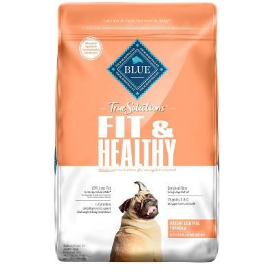 Blue Buffalo True Solutions Fit and Healthy Weight Control Adult Dry Dog Food
