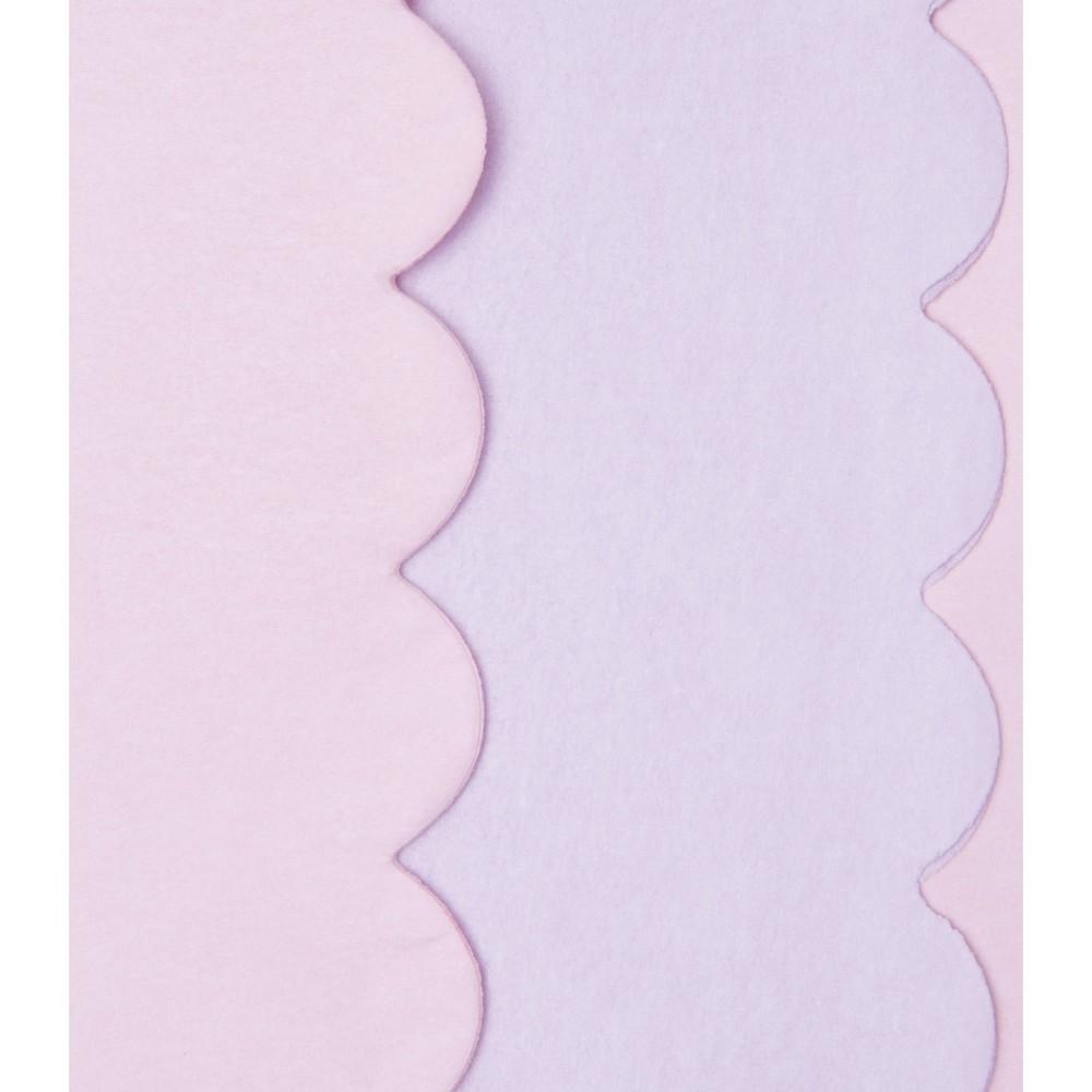 8ct Scalloped Edge Tissue Paper Purple - Spritz